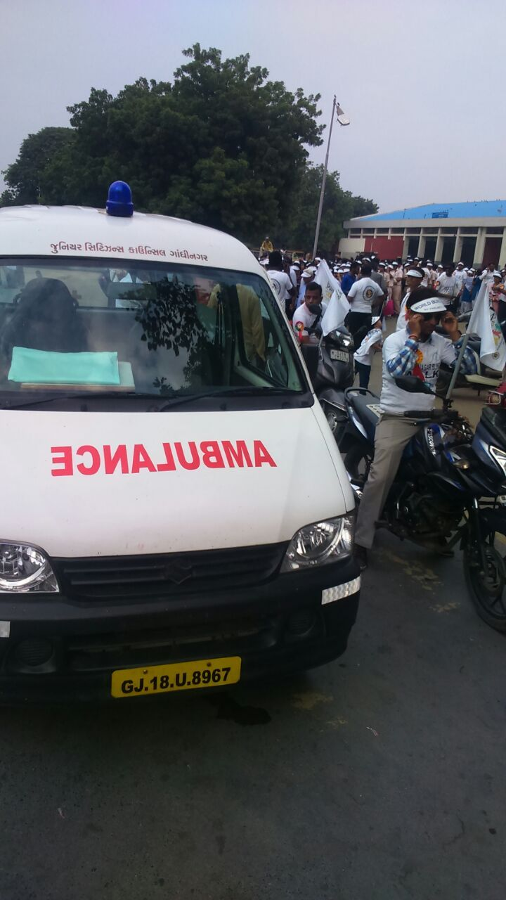 ambulance Services Gandhinagar