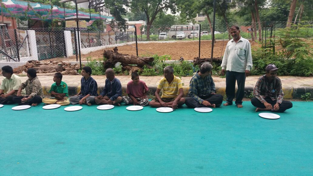 Camp for Poor People Gandhinagar